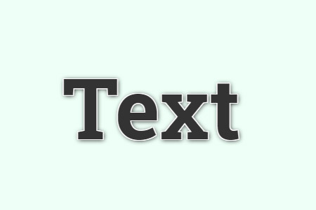 Text stroke (white)